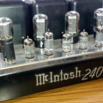 McIntosh 真空管パワーアンプ MC240
