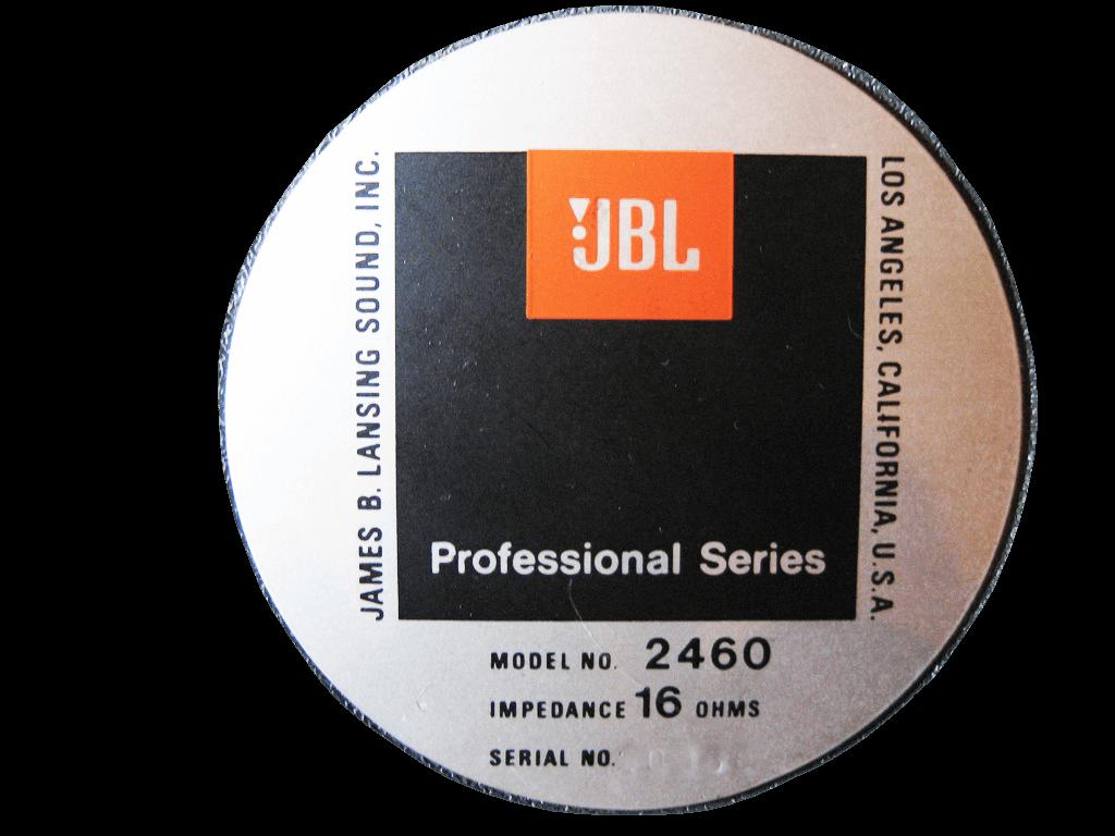 JBL スピーカー 2460