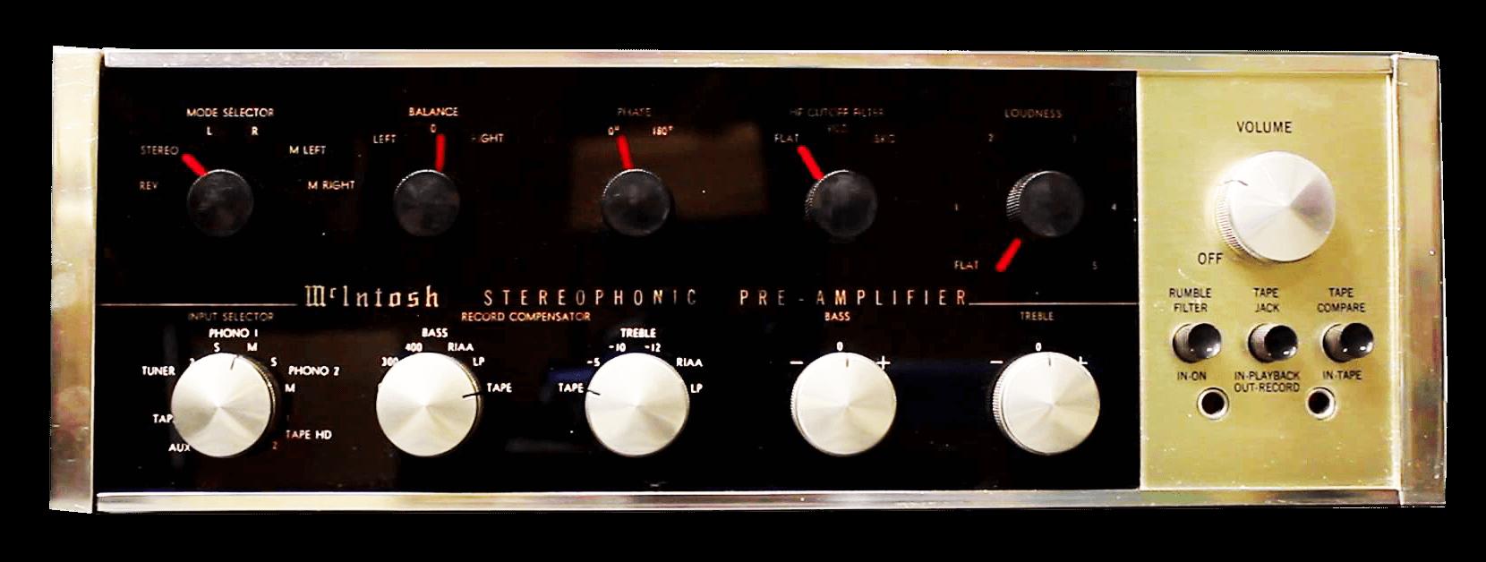 McIntosh コントロールアンプ C20
