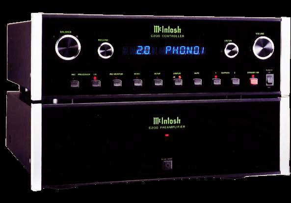 McIntosh コントロールアンプ C200