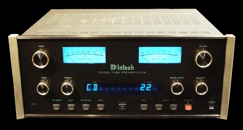 McIntosh 管球式コントロールアンプ C2200の買取