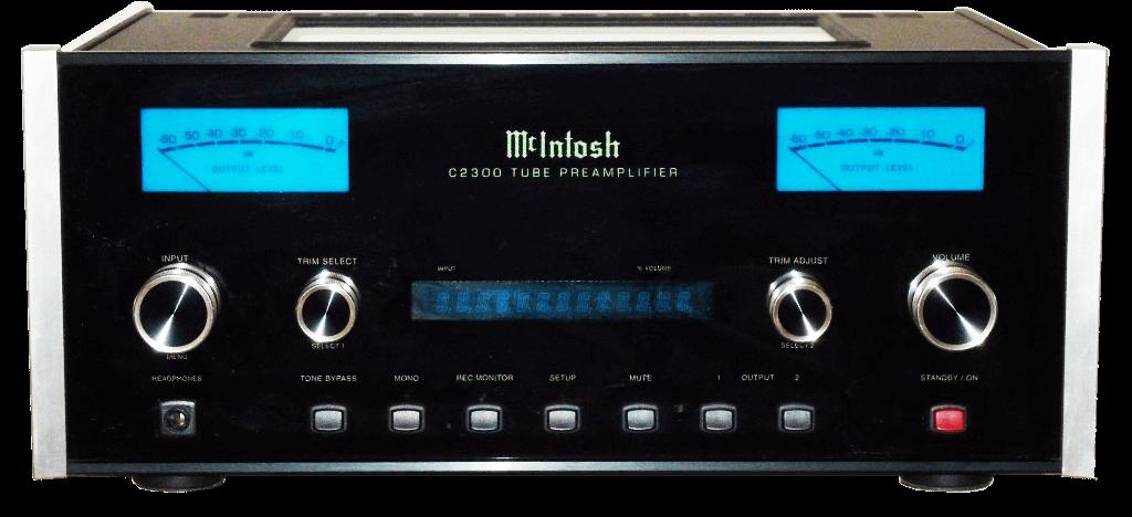 McIntosh 管球式コントロールアンプ C2300の買取