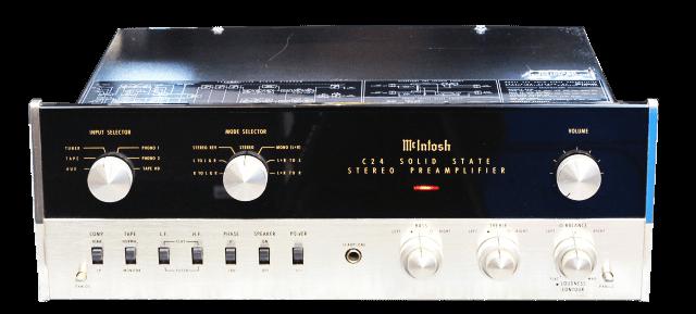 McIntosh コントロールアンプ C24の買取