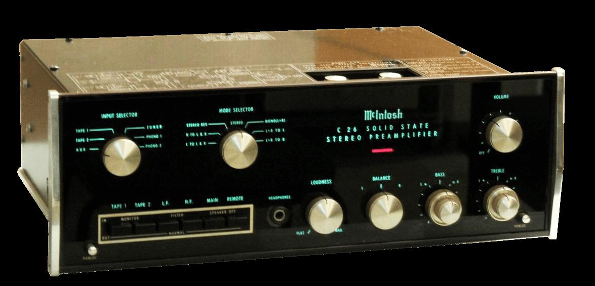 McIntosh コントロールアンプ C26 の買取