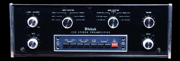 McIntosh コントロールアンプ C29
