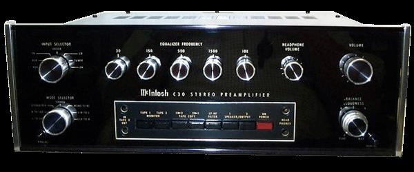McIntosh コントロールアンプ C30