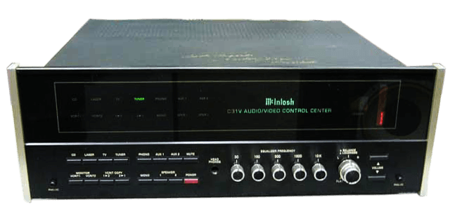 McIntosh コントロールアンプ C31V