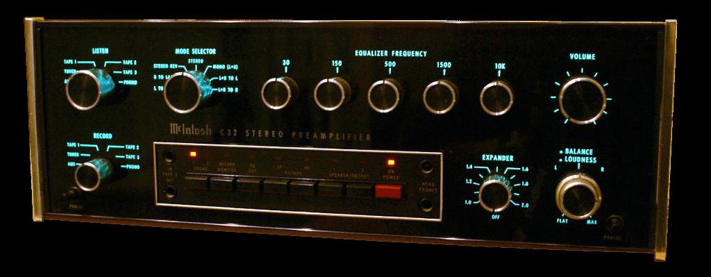 McIntosh コントロールアンプ C32