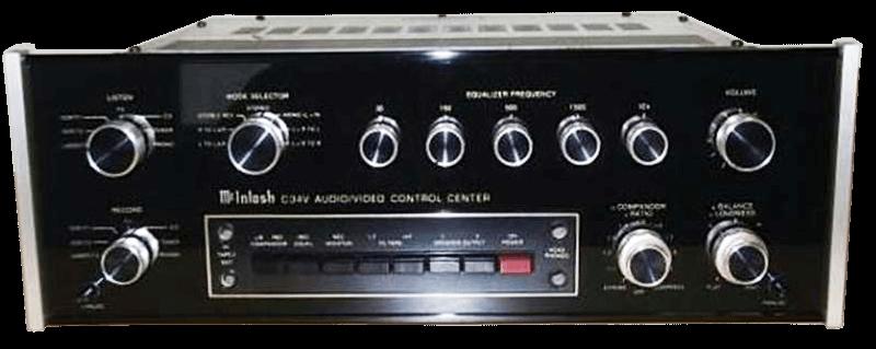McIntosh コントロールアンプ C34Vの買取