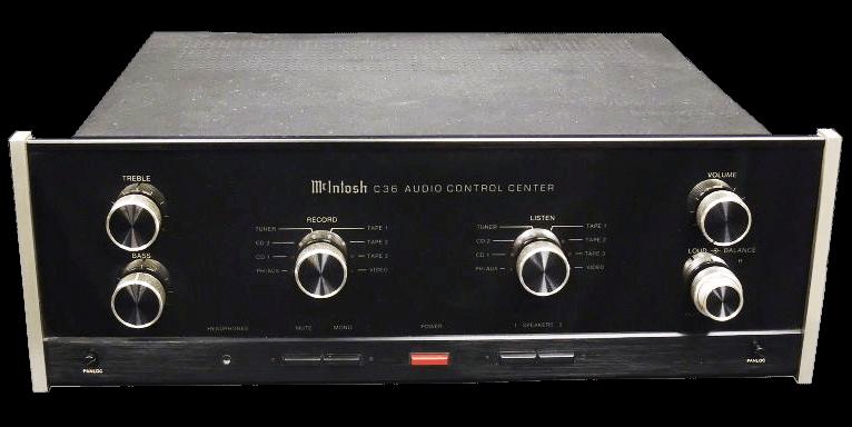 McIntosh コントロールアンプ C36の買取