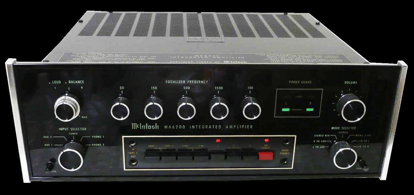 McIntosh プリメインアンプ MA6200の買取