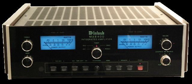 McIntosh プリメインアンプ MA6400