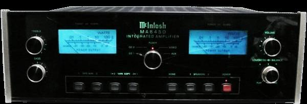 McIntosh プリメインアンプ MA6450の買取