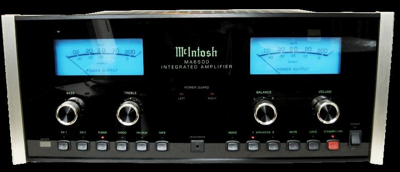 McIntosh プリメインアンプ MA6500の買取
