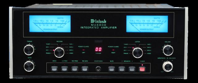 McIntosh プリメインアンプ MA6800の買取