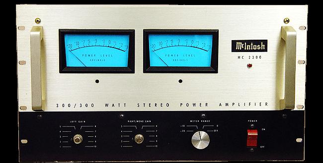 McIntosh パワーアンプ MC2300の買取