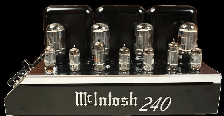 McIntosh 管球式パワーアンプ MC240