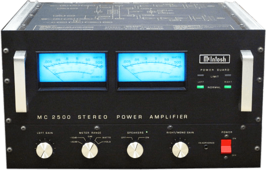 McIntosh パワーアンプ MC2500 BLACK