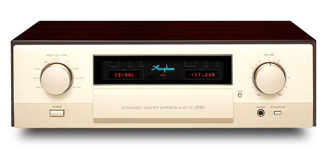 Accuphase コントロールアンプ C-2820