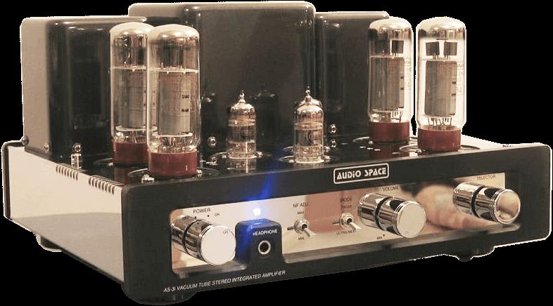 AUDIO SPACE 管球式プリメインアンプ AS-3i