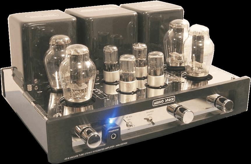 AUDIO SPACE 管球式プリメインアンプ AS-6i(300B)