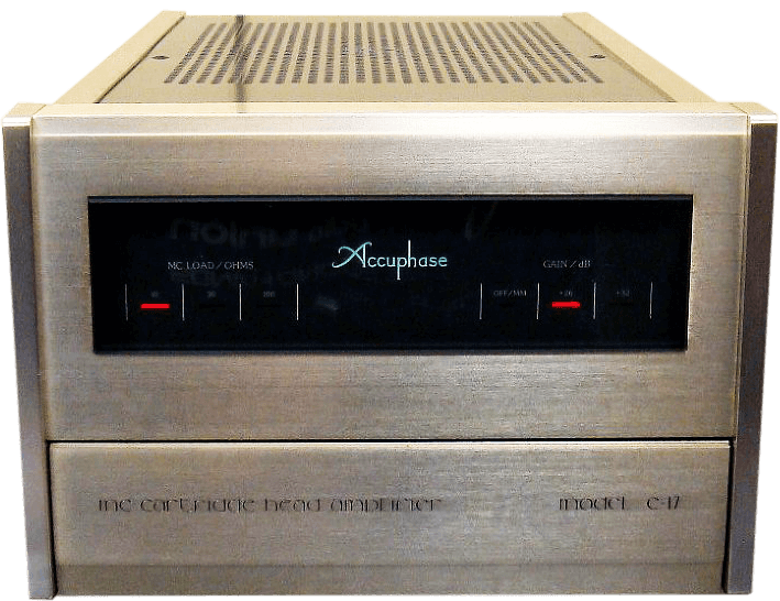 Accuphase  ヘッドアンプ C-17