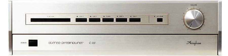 Accuphase コントロールアンプ C-222B