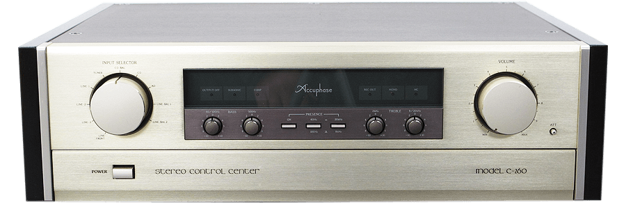 Accuphase コントロールアンプ C-260