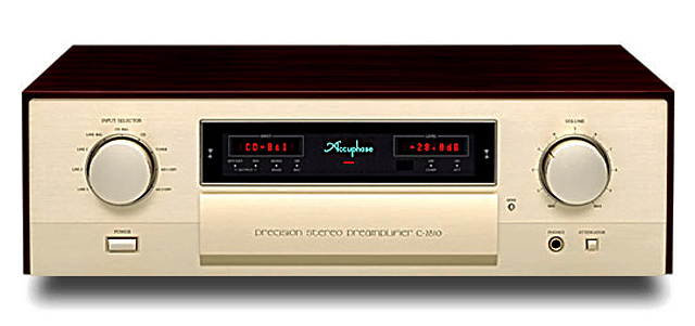 Accuphase コントロールアンプ C-2810