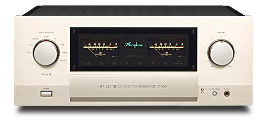 Accuphase プリメインアンプ E-550