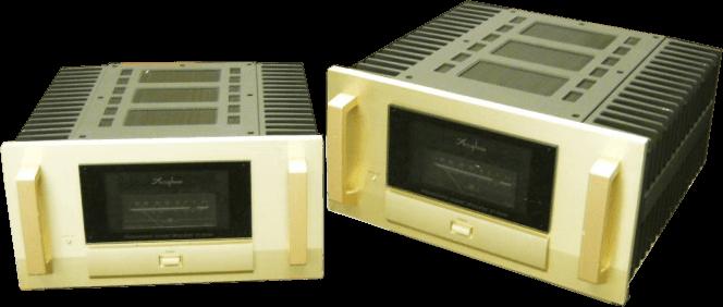 Accuphase モノラルパワーアンプ M-8000ペア