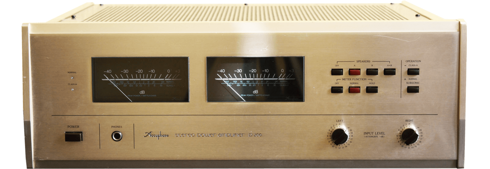 Accuphase パワーアンプ P-266