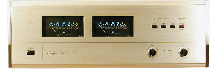 Accuphase パワーアンプ P-400