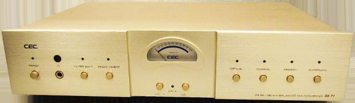 CEC D/Aコンバーター DX71
