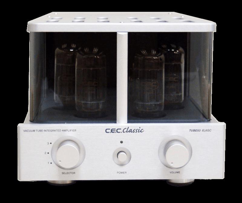 CEC 管球式プリメインアンプ TUBE53