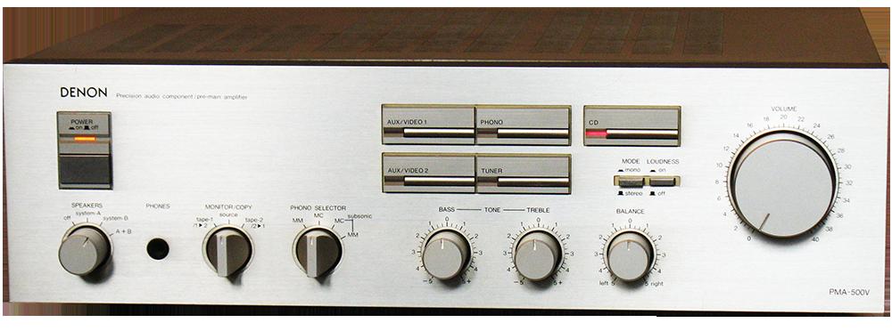 DENON プリメインアンプ PMA-500V