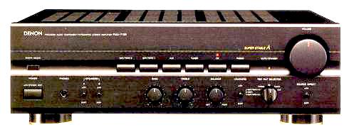 DENON プリメインアンプ PMA-715R