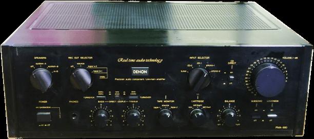 DENON プリメインアンプ PMA-980