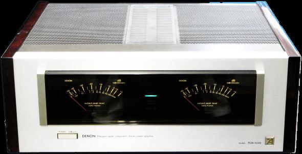 DENON パワーアンプ POA-3000