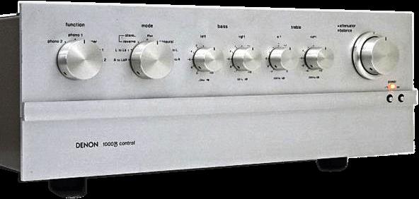 DENON 管球式コントロールアンプ PRA-1000B