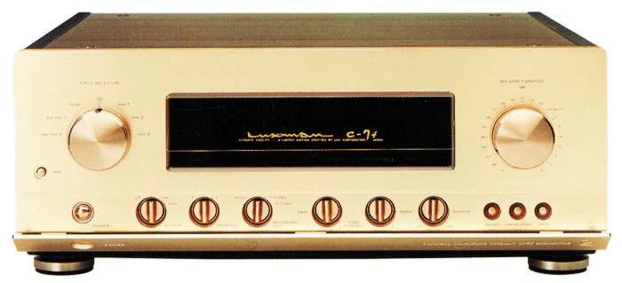 LUXMAN コントロールアンプ C-7f