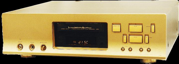 LUXMAN CDプレーヤー D-600s
