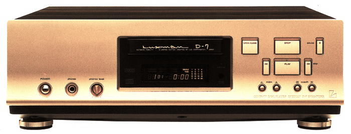 LUXMAN CDプレーヤー D-7