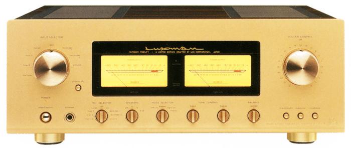 LUXMAN プリメインアンプ L-505sII