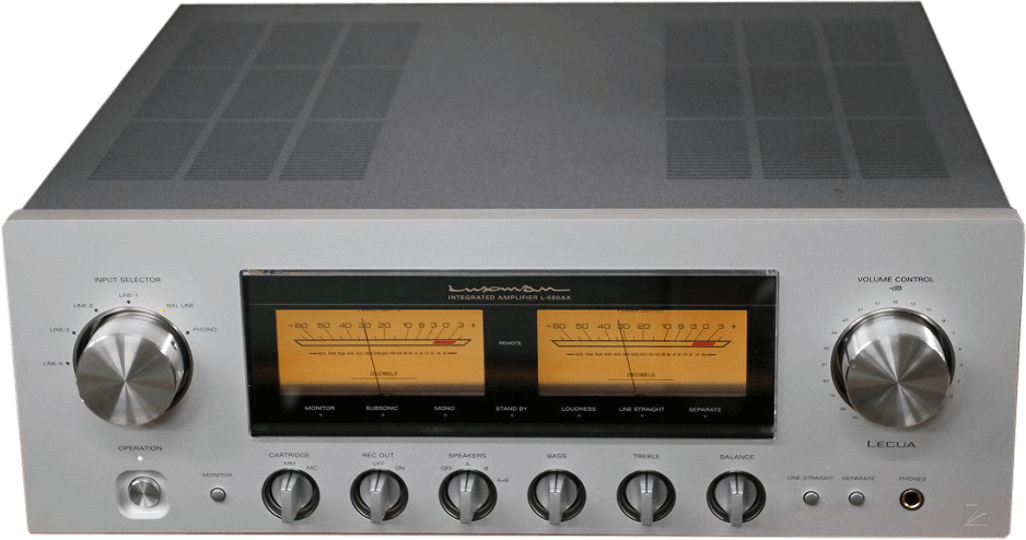 LUXMAN プリメインアンプ L-550AX