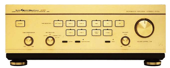 LUXMAN プリメインアンプ L-570X's