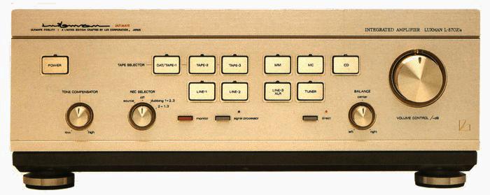 LUXMAN プリメインアンプ L-570Z's