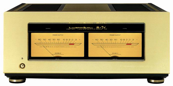 LUXMAN パワーアンプ M-7f