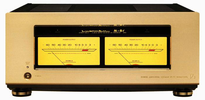 LUXMAN パワーアンプ M-8f