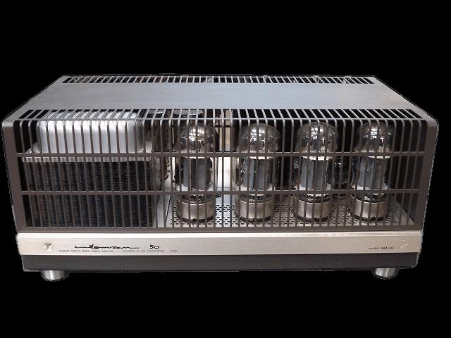 LUXMAN 管球式ステレオパワーアンプ MQ-50